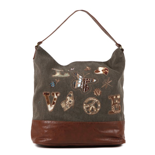 Nikky by Nicole Lee 'Liana Love' Embroidered Hobo Bag