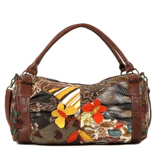 Nikky by Nicole Lee 'Roshan' Patchwork Boston Bag