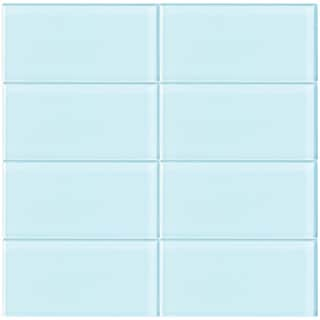 ML03 Vapor 3-Inch x 6-Inch Glass Tile (10 Sheets)