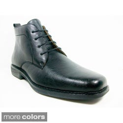 Ferro Aldo Imported Men's Ankle-Height Oxford Dress Shoes