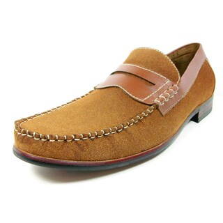 Ferro Aldo Men's Round Toe Penny Loafers