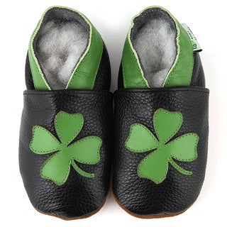 Shamrock Soft Sole Leather Baby Shoes