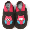 Owl Soft Sole Leather Baby Shoes