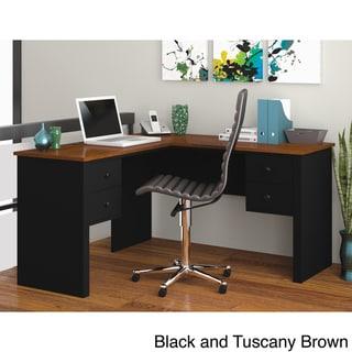 Bestar Somerville L-Shaped Desk