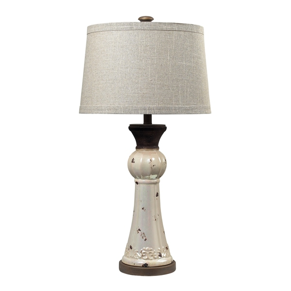 Dimond Lighting 1-light Rust Finish Table Lamp