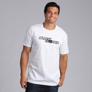 Black Clover Men's Black/White 'Fenced Rider' T-Shirt