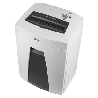 HSM Securio B24c 17-19 Sheet Continuous Cross-cut Shredder with 9-gallon Waste Container