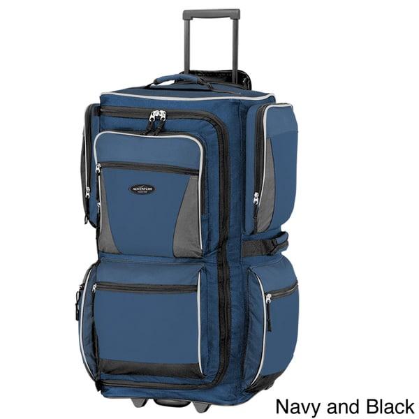 Traveler's Club 29-inch Rolling Upright Duffel Bag