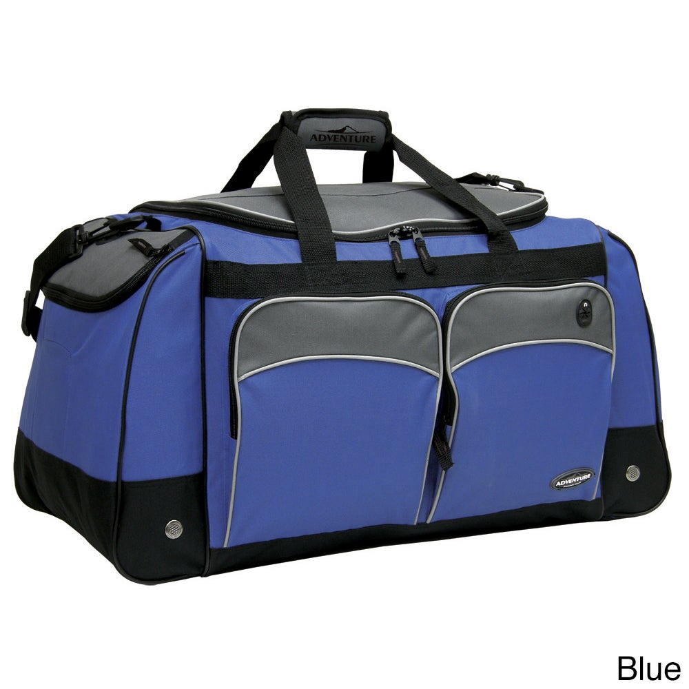 Traveler's Club Luggage Traveler's Club Adventurer 28-inch Multi-Pocket Duffle Bag at Sears.com