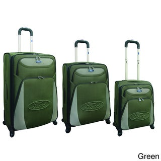 Traveler's Club Ford Taurus Series 3-piece Expandable Spinner Luggage Set