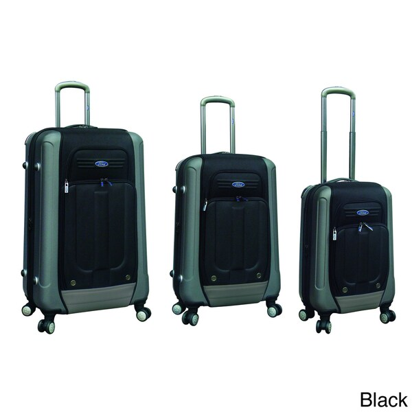Traveler's Club Ford Flex 2 Series 3-piece Expandable Hybrid Spinner Luggage Set