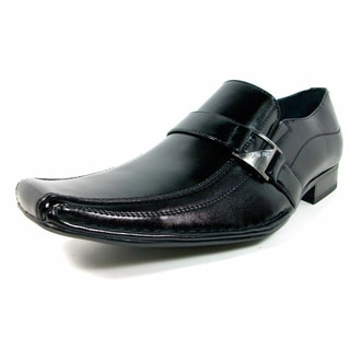 Delli Aldo Men's Buckle Front Dress Loafers