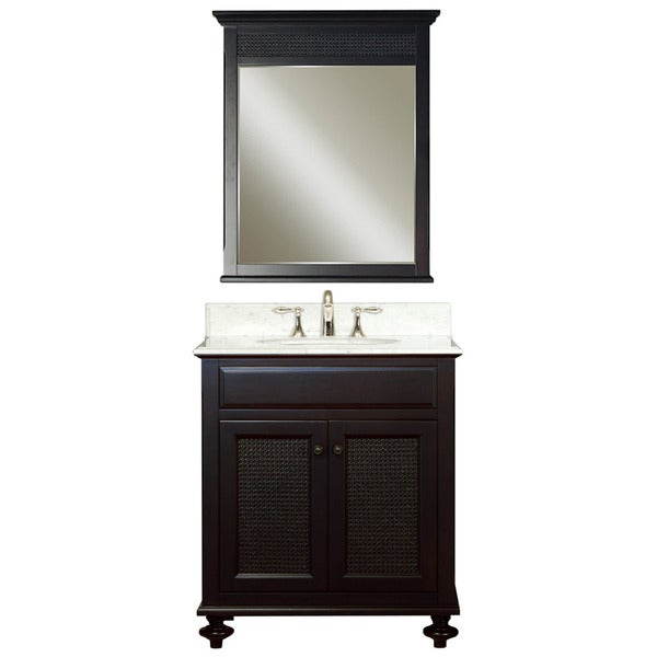 Water Creation London 30-inch Vanity Mirror