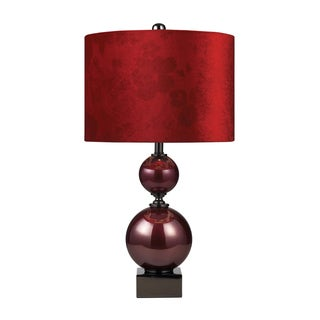 Dimond Lighting Cherry Glass 1-Light Table Lamp