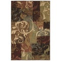 Tess Abstract Multicolored Rug (3'11 x 5' 3)