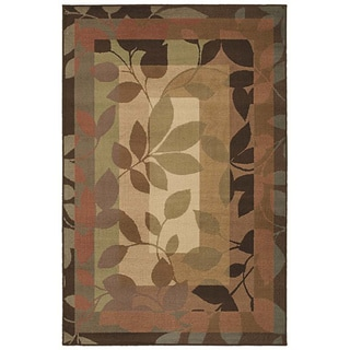 Canopy Multicolored Transitional Rug (5'3 x 7'10)