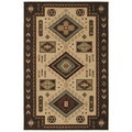 El Dorado Multicolored Southwest Rug (3'11 x 5'3)