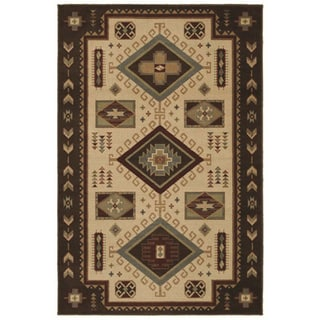 El Dorado Multicolored Southwest Rug (5'3 x 7'10)