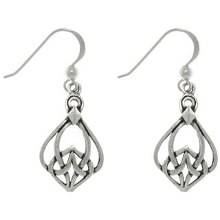 CGC Sterling Silver Celtic Weave Earrings
