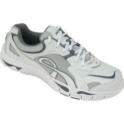 Women's Kalso Earth Shoe Exer-Walk White/Dark Grey K-Calf