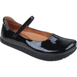Women's Kalso Earth Shoe Solar Black Patent Leather