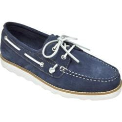Men's Rugged Shark Wheelhouse Navy Suede