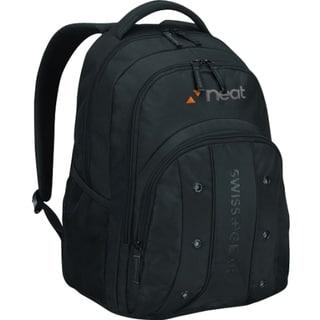"""Wenger UPLOAD Carrying Case (Backpack) for 16"""" Notebook - Black"""