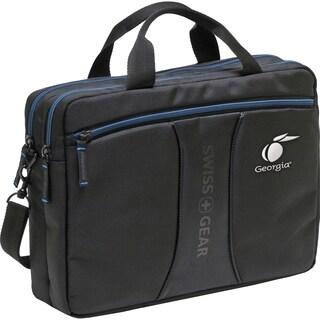 """Wenger JETT Carrying Case for 14.1"""" Notebook - Black, Blue"""