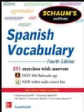 Schaum's Outlines Spanish Vocabulary (Paperback)