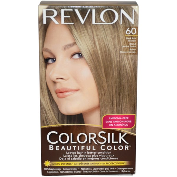 Revlon Color Silk #60 Dark Ash Blonde Hair Color Revlon Hair Color