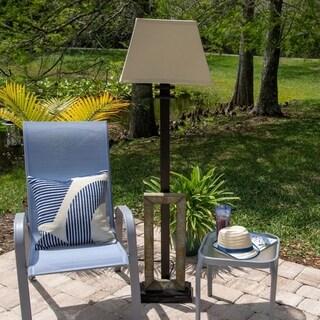 Stronach Natural Slate 60-inch Outdoor Floor Lamp