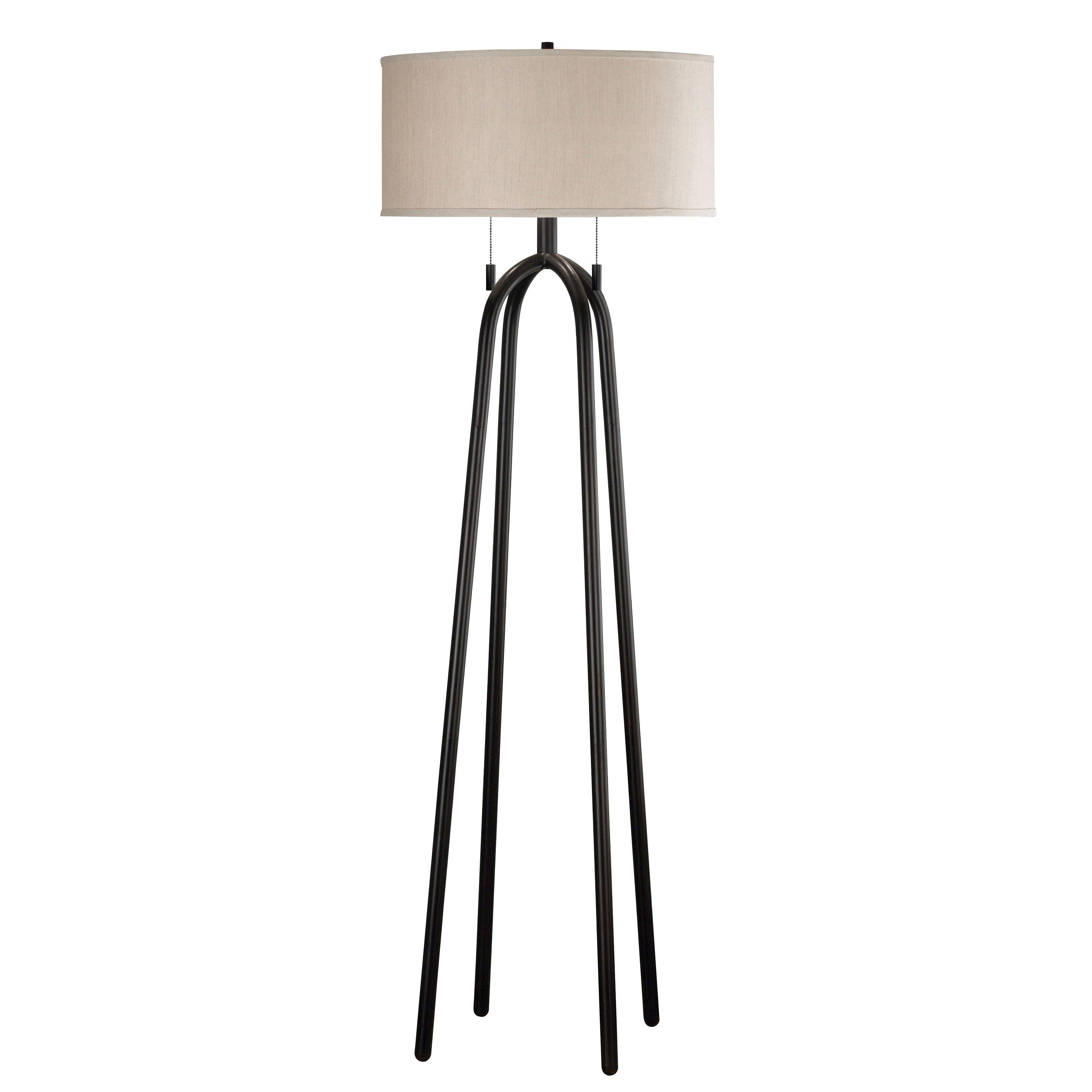 floor lamp overstock shopping great deals on design craft floor. Black Bedroom Furniture Sets. Home Design Ideas