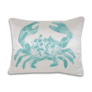 Water Color Crab 14 x 20-inch Throw Pillow