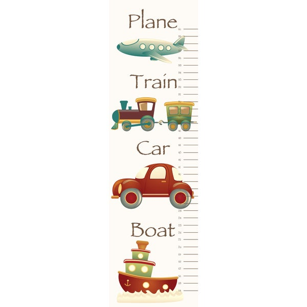 Secretly Designed 'Vroom Vroom' Growth Chart
