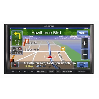 Alpine 7'-inch Double-DIN GPS Navigation Bluetooth DVD/CD/USB AM/FM Receiver (New in Non-retail Packaging)