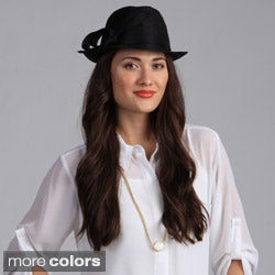 Swan Hat Women's Fedora Crushable Hat