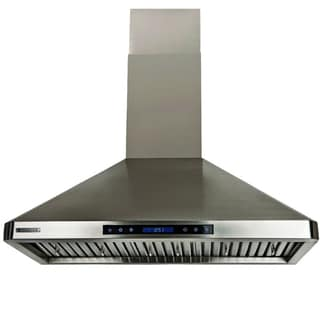 XtremeAir 30-inch 900 CFM Stainless Steel Wall Mount Range Hood