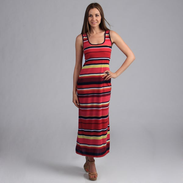24/7 Comfort Apparel Women's Maxi Tank Dress