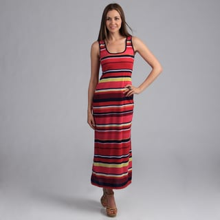 24/7 Comfort Apparel Women's Maxi Tank Dress