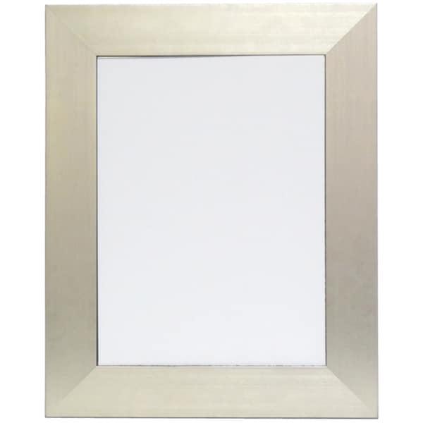Silvertone/ Black Edge Mirror