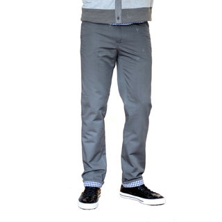 Something Strong Men's Gray Straight-Leg Five-Pocket Pants
