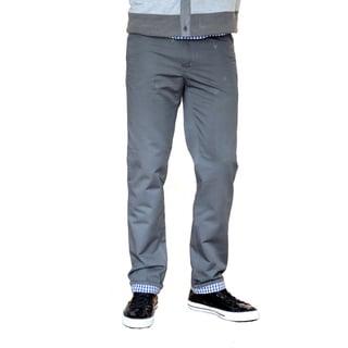 Something Strong Men's Gray Straight-Leg Five-Pocket Pants