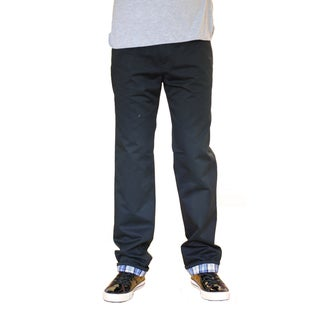 Something Strong Men's Black Straight-Leg Five-Pocket Pants