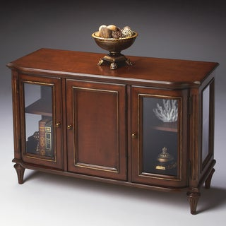 Butler Specialty Wood/ Glass Display Cabinet