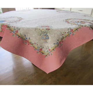 French Woven Heavy Weave 60-inch Table Cloth