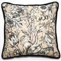 Floral 18-inch Throw PIllow