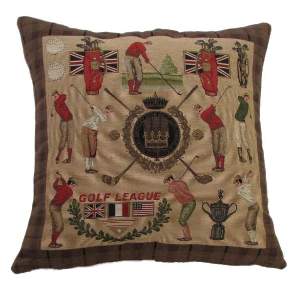 Golf Design 18-inch Throw Pillow