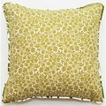 Floral Outdoor Living 18-inch Throw Pillow