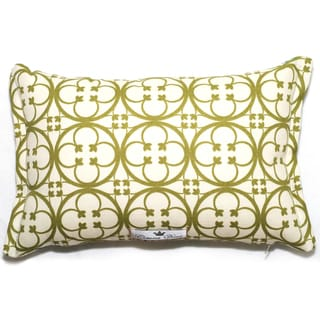 Clover Pattern Outdoor Living 17 x 11-inch Throw Pillow