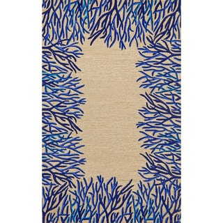 Reef Border Outdoor Rug (3'5 x 5'5)